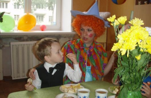 Организация детских праздников в «Капитошке»