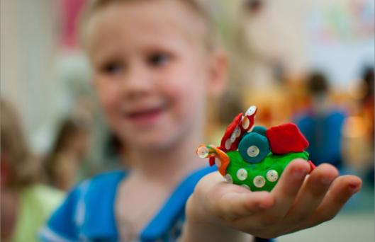 Выставка детских работ, Творческая мастерская